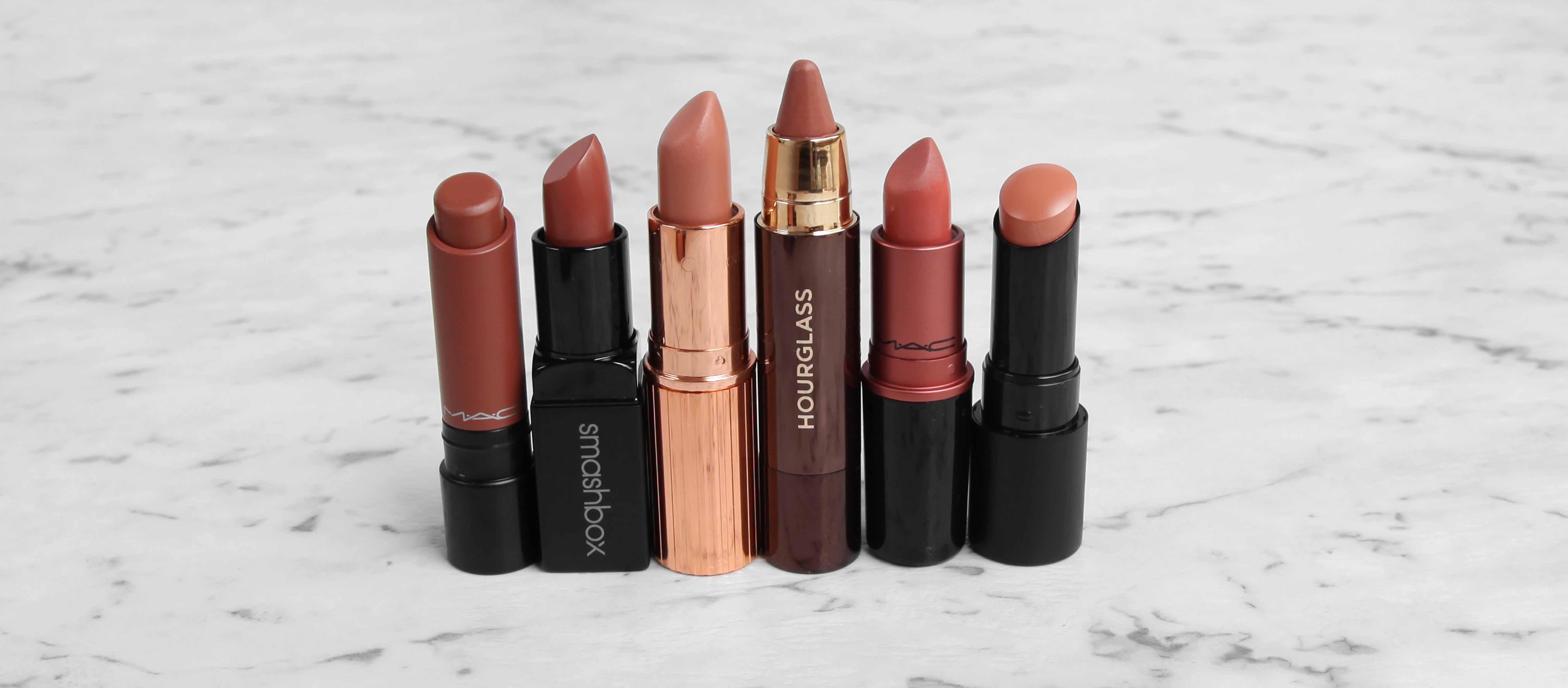 Top 6 Nude Lipsticks - design by aikonik 2