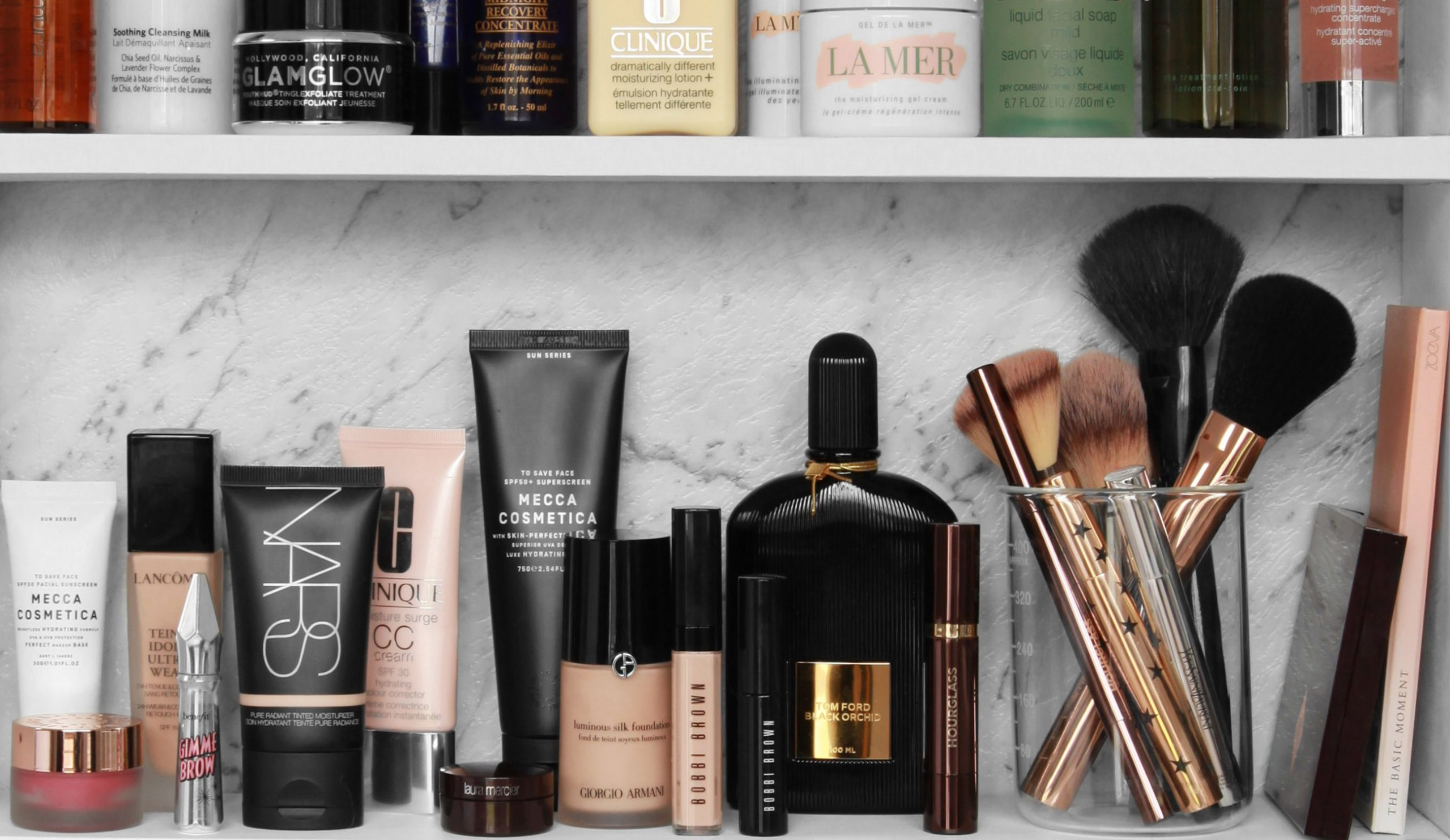 Makeup Shelfie Beauty Essentials Design By Aikonik Banner Design By Aikonik