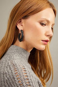 Witchery Rosetta Hoop Earrings 3