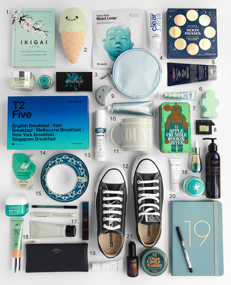 Christmas Gift Guide - Design By Aikonik - blue