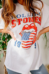 rolling stones tee urban outfitters