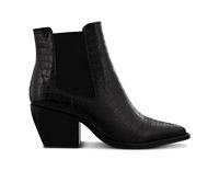 Priscilla-Black-Alligator-Tony-Bianco-Boots- Design By Aikonik
