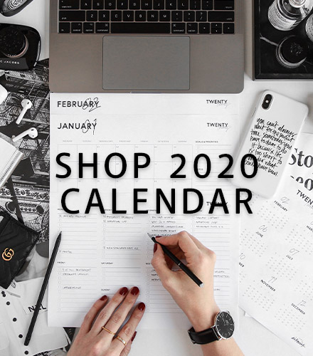 Design By Aikonik - Shop 2020 Calendar