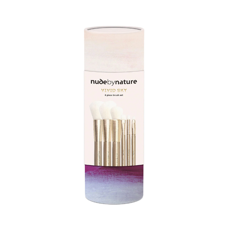 nude by nature brush set - design by aikonik